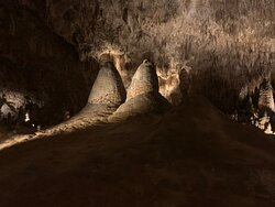 Looking across the cavern