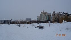 Казань. Парк Тысячелетия (февраль 2021 года)