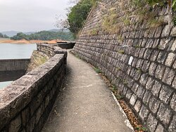 Shing Mun Country Park - the reservoir dam