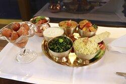 Nepali Food ( Dal , Bhat , Tarkari .