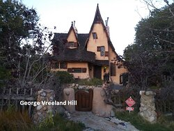 The Spadena House, also known as The Witch's House, is a real house in Beverly Hills, California.  Photo by, George Vreeland Hill