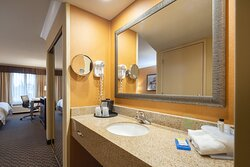 Sink and Vanity Area Holiday Inn Express Castro Valley East Bay