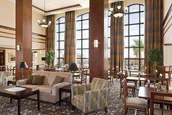 Take full advantage of our spacious lobby