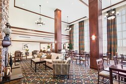 Enjoy a great atmosphere for breakfast in The Great Room