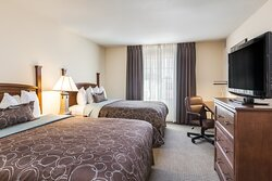 Enjoy the many comforts of our spacious suites.