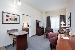 Our Double Queen ADA Suite allows you convenience and space.