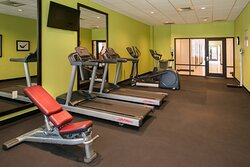 Nice workout in our Fitness Center