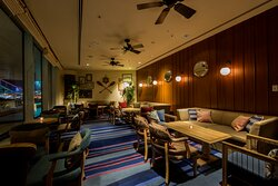 Lounge & Bar MARINE BLUE inside