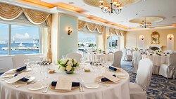 Banquet room Aegean, Dinner style