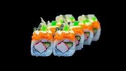 Sunrise sushi roll