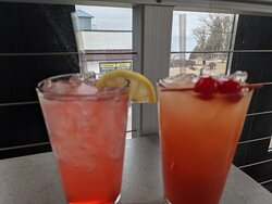 The only two drinks we had