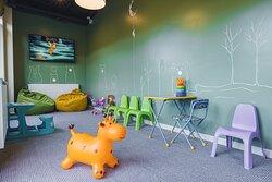 Детская комната ресторана.