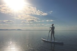 Rental of SUP- stand up paddleboards. Check out nomadicnorth.se