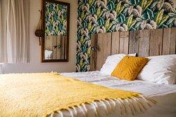 Het bed in kamer Groede