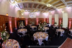 Ballroom for private events, Eat, drink, dance and be Merry!
