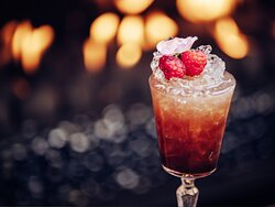 Raspberry Topped Cocktail, Our Land is Alive