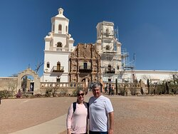 My wife and I with the church