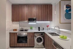 Superior Two Bedroom Apartment kitchen