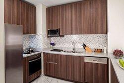 Superior Sea View Three Bedroom Apartment kitchen
