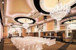 Crystal Ballroom - Theatre setup