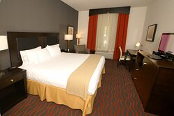 Enjoy free movies in our spacious king executive rooms!