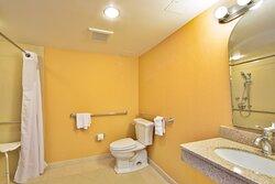 Spacous ADA Guest Bathroom