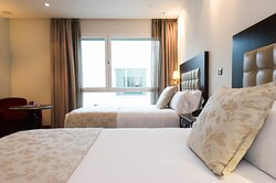 2 Double Beds - Twin Executive the best to share with friends.
