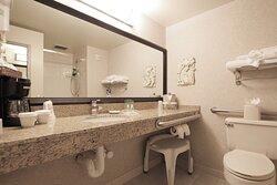 ADA Guest Bathroom at Holiday Inn Minneapolis Airport Eagan hotel