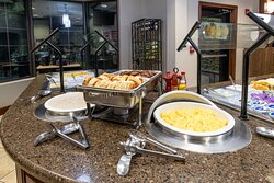 Our guests love our hot breakfast buffet, served daily