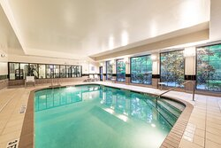 Guests love our heated indoor pool