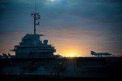 The USS Yorktown at Patriot's Point in Charleston SC