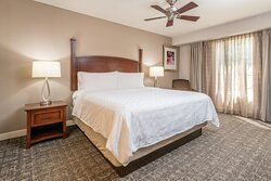 One bedroom king suites are a business executives primary choice