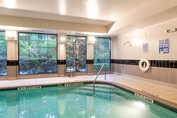 Relax in one of Charleston's only indoor pools