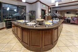 Our hot buffet breakfast is sure to please the entire family