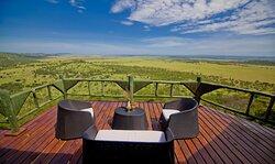 Outdoor Balcony in Luxury Safari Room at Mbali Mbali Soroi Serengeti Lodge