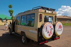 our 4x4 safari landcruoser