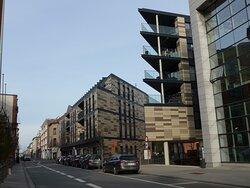 Leuven, Cinema Z in the weird Vesalius area