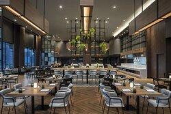 Greenhouse Restaurant & Terrace indoor dining area