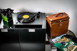 Owner's Suite Record Player