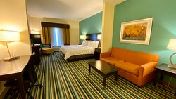 Upgrate to a one King Suites for additional space