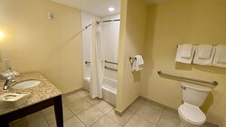 We offer rooms with accessible tub for your convenience