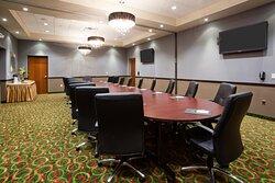 Beautiful Boardroom that Seats Sixteen