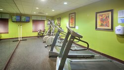 Workout during your stay!