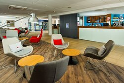Relax in our newly refurbished lounge and bar