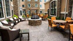 Staybridge Suites Lexington KY outside courtyard