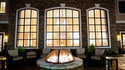 Staybridge Suites Lexington, KY fire pit area