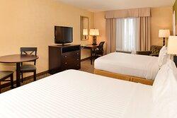 Sacramento Airport Holiday Inn Express Woodland  Double Queen Room