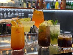 wide selectionof cocktails