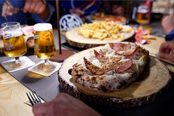 Pizza, Birre e Patatine