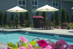 Enjoy our new outdoor pool!